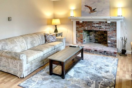 East Sandwich Cape Cod vacation rental - Living room