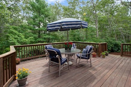 East Sandwich Cape Cod vacation rental - Private deck