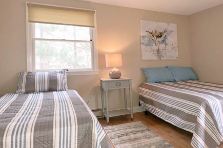 East Sandwich Cape Cod vacation rental - First floor bedroom with full and twin beds