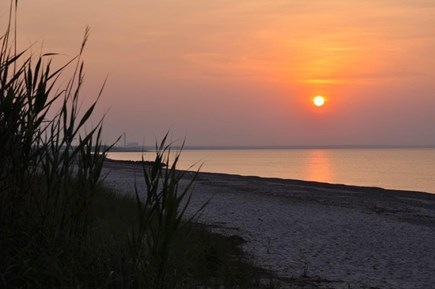 East Sandwich Cape Cod vacation rental - Beach at sunset