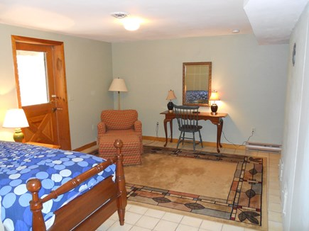 West Falmouth Cape Cod vacation rental - South facing walk-in Basement (en suite)