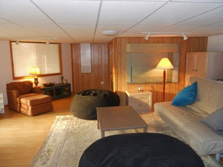 West Falmouth Cape Cod vacation rental - West facing walk-in Basement (en suite)