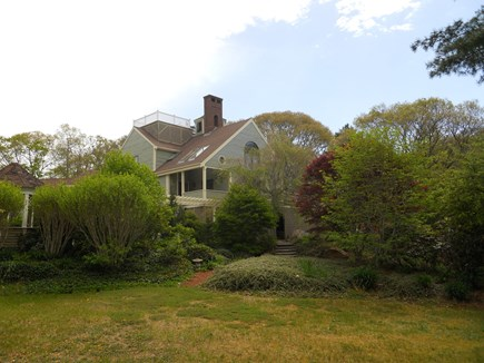 West Falmouth Cape Cod vacation rental - View from the main lawn