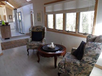 West Falmouth Cape Cod vacation rental - Sitting Dining Area