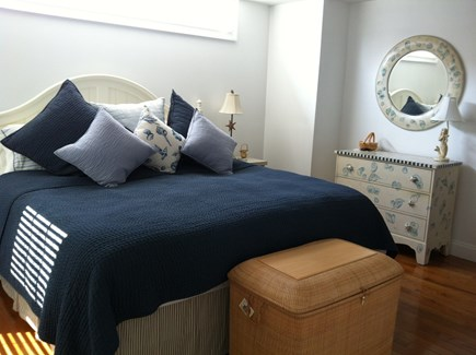 Harwich Port Cape Cod vacation rental - 2nd Floor King Bedroom with 2 spacious closets plus shelves