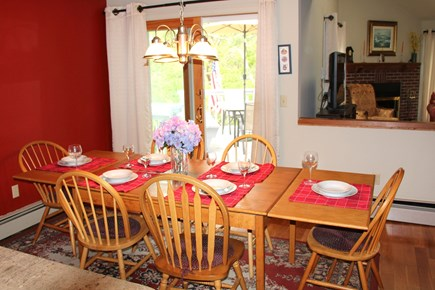 Brewster Cape Cod vacation rental - Dining Table for up to ten.
