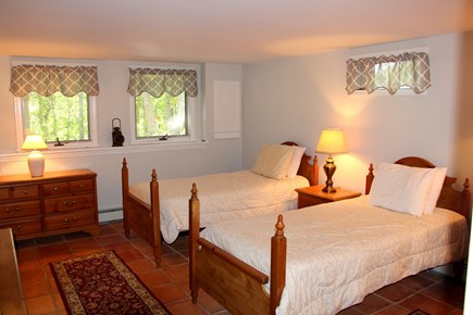 Brewster Cape Cod vacation rental - Lower level bedroom
