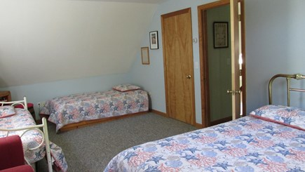 Eastham Cape Cod vacation rental - Upstairs ~ Double and Twin Bedroom