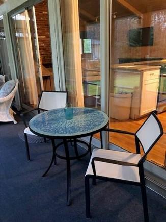New Seabury, Mashpee New Seabury vacation rental - Screened Porch Sitting Area