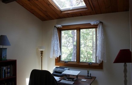 Wellfleet Cape Cod vacation rental - Study/third bedroom with large skylight and daybed