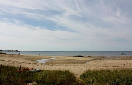 Wellfleet Cape Cod vacation rental - Burton Baker Beach is only 3/10ths mile, via a country lane