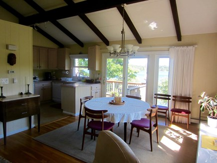 Harwich Cape Cod vacation rental - Sun-filled dining area with kitchen