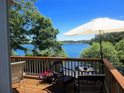 Harwich Cape Cod vacation rental - Deck with water views