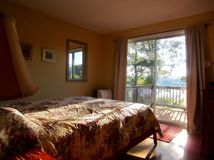 Harwich Cape Cod vacation rental - Bedroom with Queen bed and deck