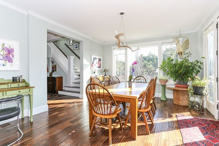 Truro Cape Cod vacation rental - Adjacent to kitchen, dining room open to the main level deck