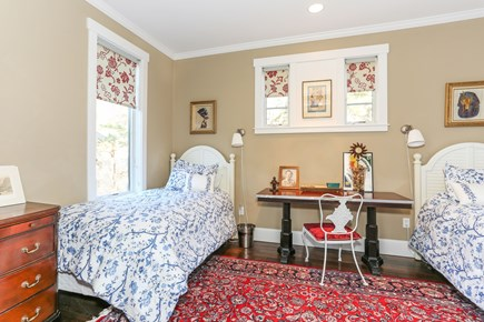Truro Cape Cod vacation rental - Main level bedroom with nearby bath