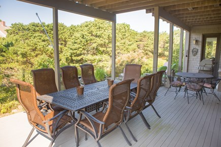 Truro Cape Cod vacation rental - Outdoor Dining