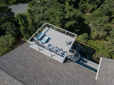 Truro Cape Cod vacation rental - Roof Deck