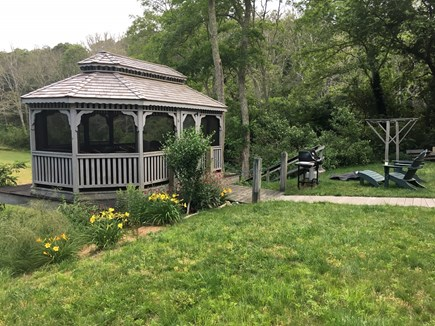 Truro Cape Cod vacation rental - Gazebo/Backyard