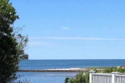 South Chatham Cape Cod vacation rental - Gorgeous ocean view from new deck