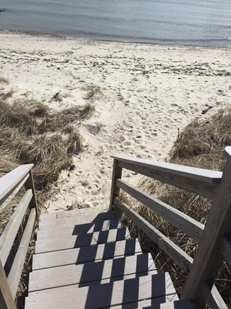 South Chatham Cape Cod vacation rental - Steps down to Private Beach