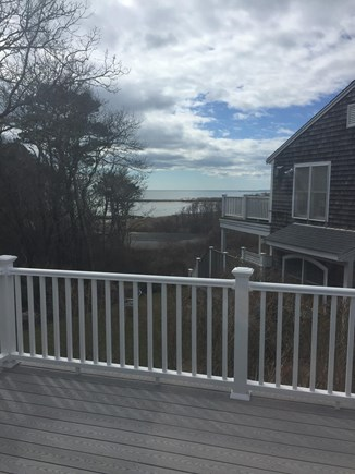 South Chatham Cape Cod vacation rental - Deck water views