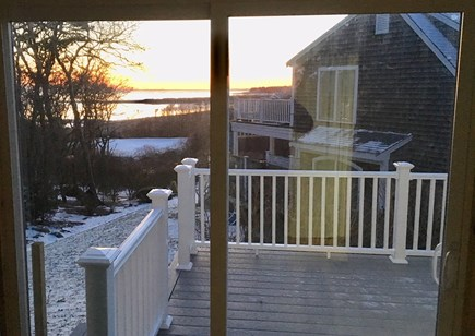 Chatham Cape Cod vacation rental - Great ocean view from Master Bedroom Slider