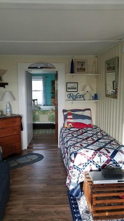 Eastham,  Kingsbury Beach Cape Cod vacation rental - Cozy corner.