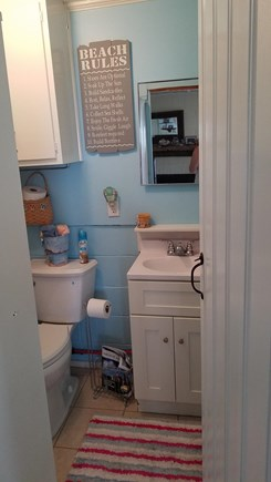 Eastham,  Kingsbury Beach Cape Cod vacation rental - Shower after a day at the beach