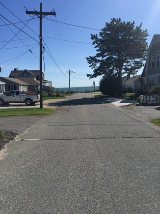 Mashpee, Popponesset Cape Cod vacation rental - View from the front yard to the BEACH!