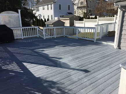 Mashpee, Popponesset Cape Cod vacation rental - Amazing back deck for grilling and relaxation