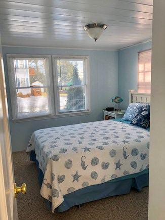 Mashpee, Popponesset Cape Cod vacation rental - Guest Bath, Queen bed & TV