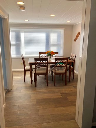 Mashpee, Popponesset Cape Cod vacation rental - Dining Room with Tile Floor