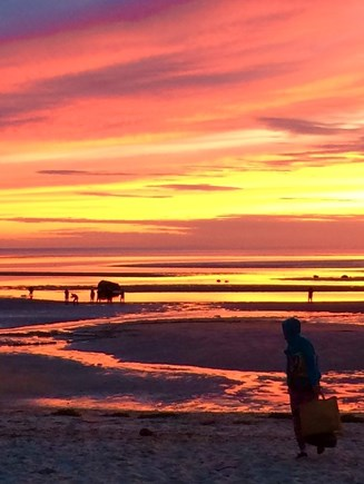 Orleans Cape Cod vacation rental - Beautiful sunsets at Skaket Beach are a short walk away.