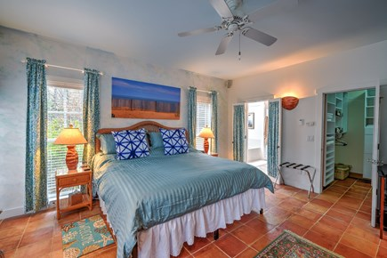Wellfleet Cape Cod vacation rental - First Floor King Master Bedroom