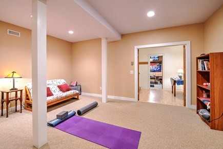 Wellfleet Cape Cod vacation rental - Yoga Room and Futon Downstairs
