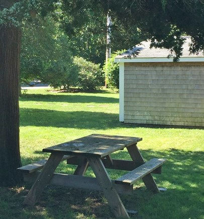 South Yarmouth Cape Cod vacation rental - Picnic area - in a quiet and secluded area for some relaxation.