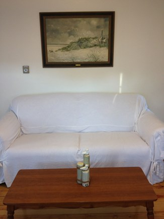 South Yarmouth Cape Cod vacation rental - A comfy spot to watch the television or play a game!