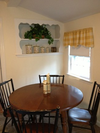 South Yarmouth Cape Cod vacation rental - Dining Table - Bright and cheerful spot to enjoy breakfast.