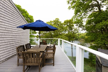 Barnstable Cape Cod vacation rental - Outdoor dining on the deck - will have grill as well