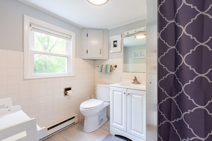 Barnstable Cape Cod vacation rental - Downstairs full bath with shower