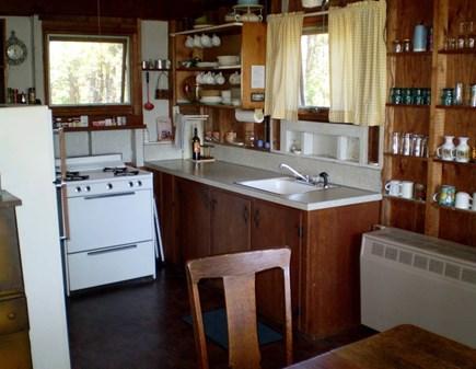Wellfleet Cape Cod vacation rental - Cottage kitchen