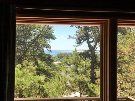 Wellfleet Cape Cod vacation rental - Sunny deck with harbor views