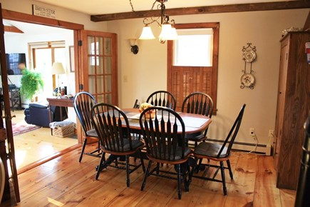 Brewster Cape Cod vacation rental - Dining area adjacent to kitchen