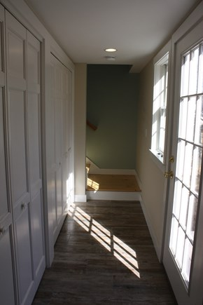 Brewster Cape Cod vacation rental - Back hall, w/washer & dryer and full pantry w/kitchen appliances