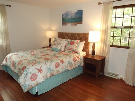 South Chatham Cape Cod vacation rental - Queen master bedroom with a full bath.