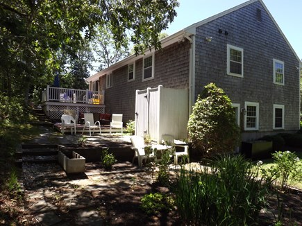 South Chatham Cape Cod vacation rental - Back of home.