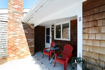 Chatham Cape Cod vacation rental - Front porch with Adirondack chairs.