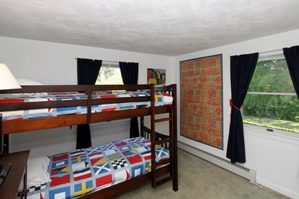 Chatham Cape Cod vacation rental - Second bedroom with twin bunk beds.