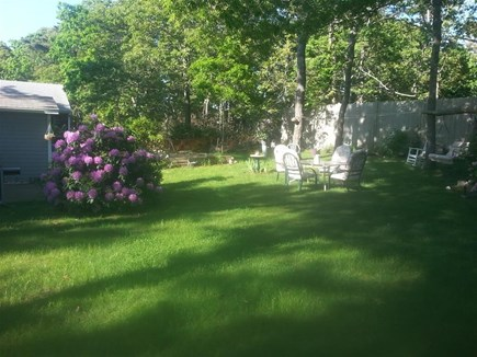 Eastham Cape Cod vacation rental - Spacious yard for games,and, or, Privacy.